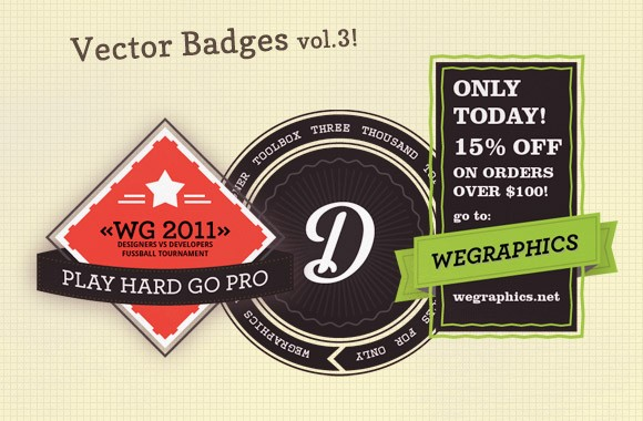 Authentic Vector Badges v3