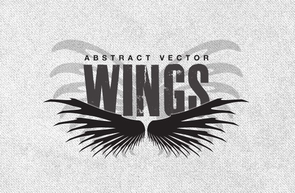 Abstract Vector Wings