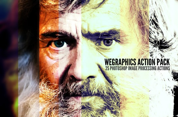 25 Free Photoshop Image Processing Actions