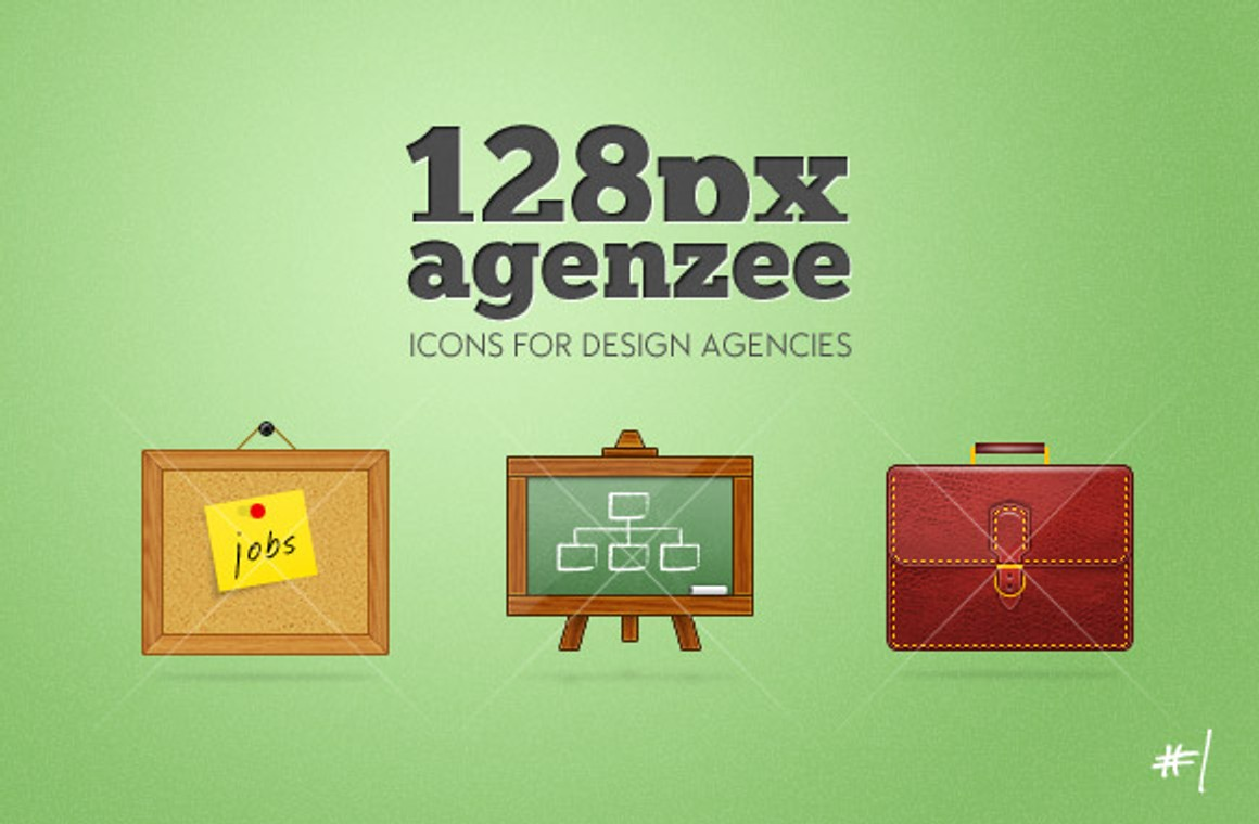 Agenzee, design agency icons #1
