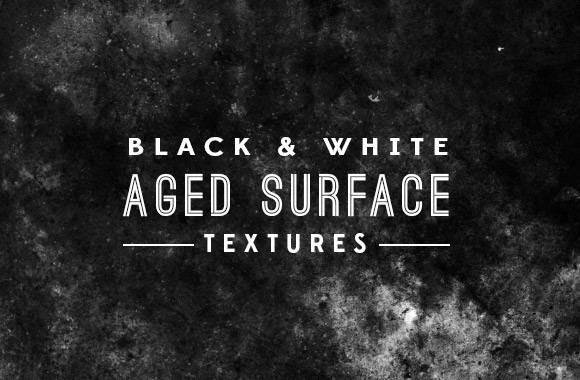 Black and White Aged Surface Textures