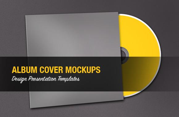 Album Cover Mock-Ups