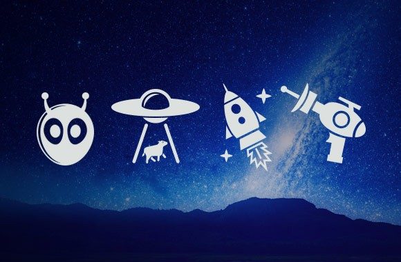 Free Alien Icon Vector Set