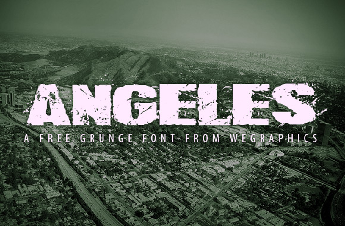 Angeles: A Free Urban Style Font Face