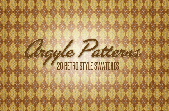 20 Argyle Patterns and Swatches
