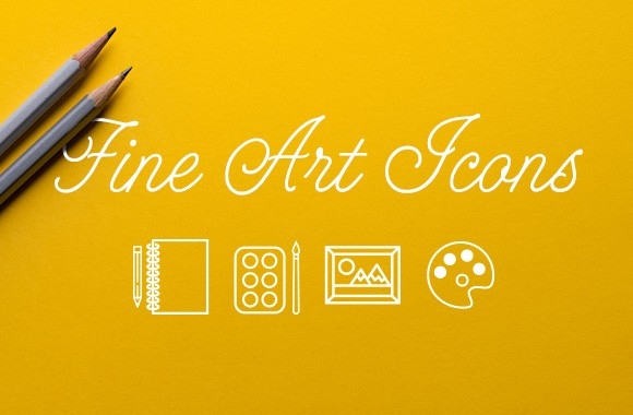 Fine Art Vector Icons