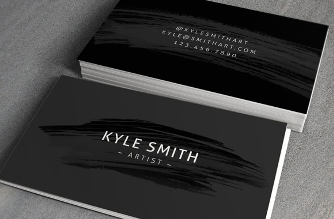 Artist Business Card Template Vol3