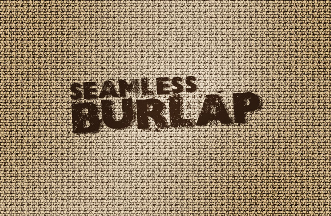 Seamless Burlap Patterns