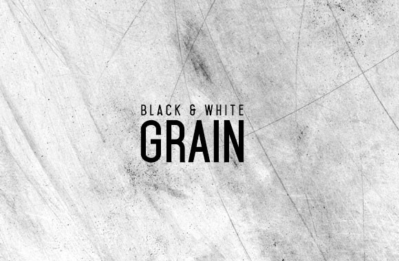 Black and White Grain Textures