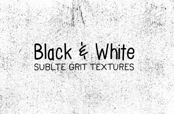 Black and White Subtle Grit Textures