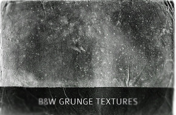 Black and White Grunge Textures