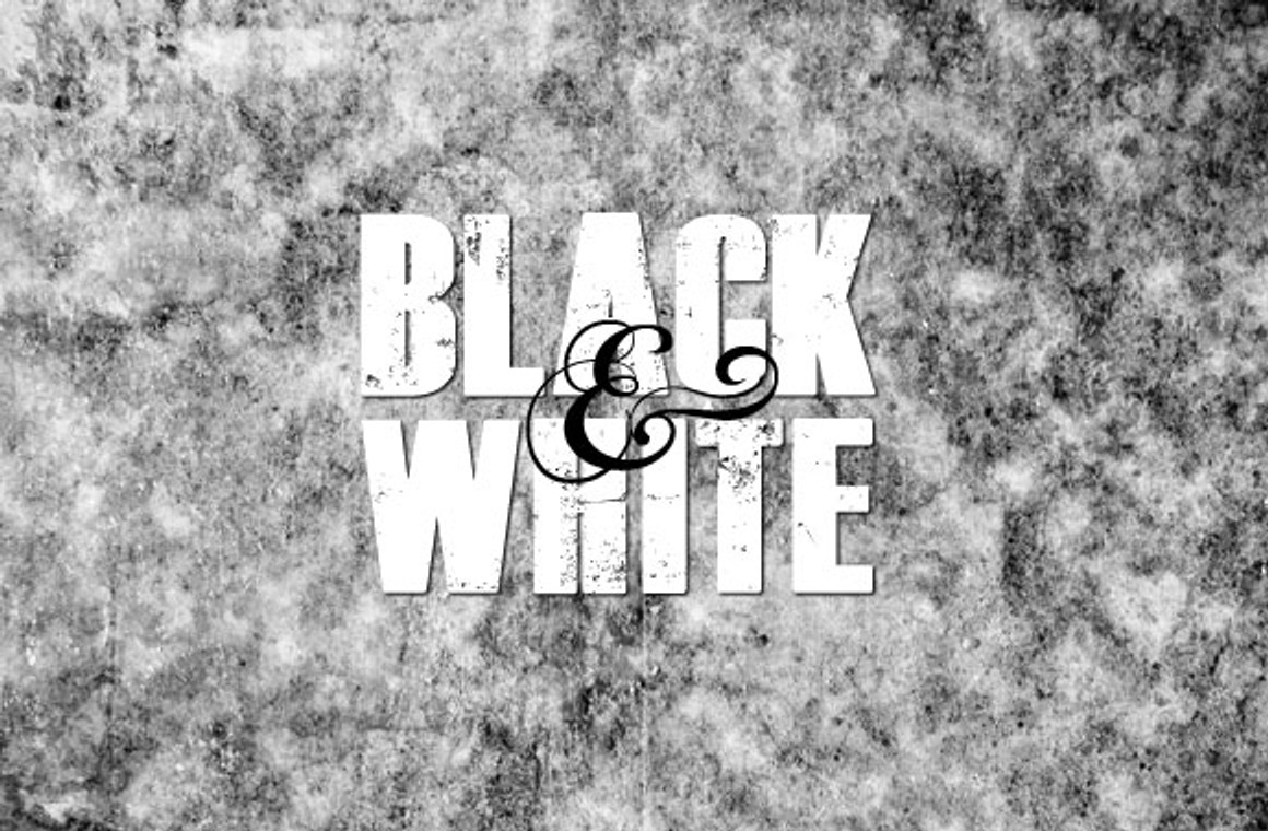 Black and White Grunge Texture Pack