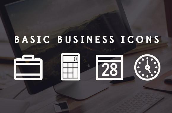Basic Business Icons