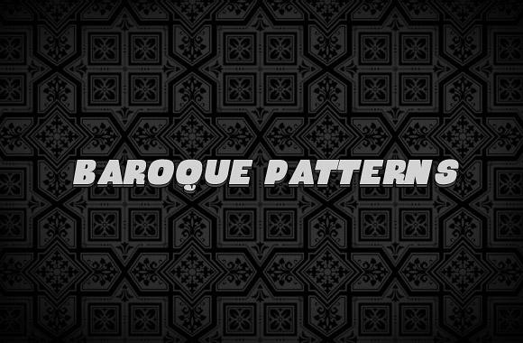 Soft grunge baroque patterns