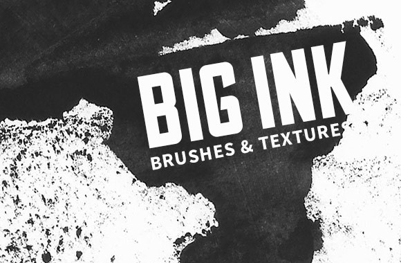 Big Ink Pass - Brushes and Textures