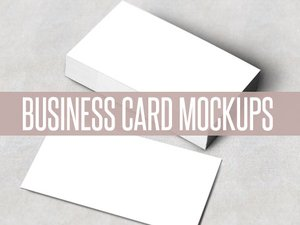 Business Card Mockups 1