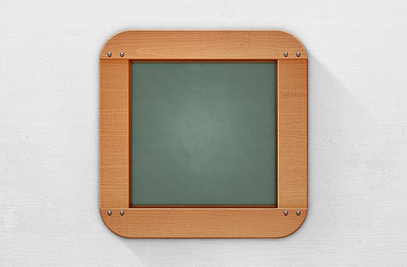 Blackboard App Icon - Free Template
