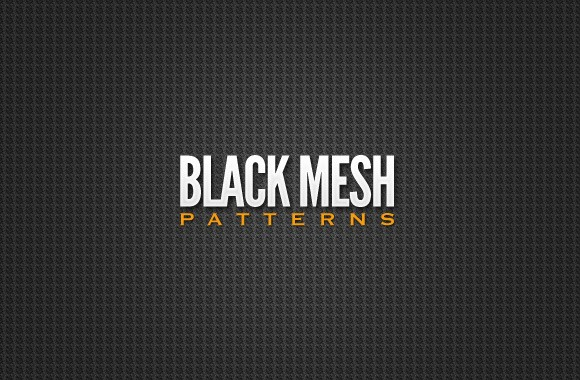 Black Mesh Patterns Collection