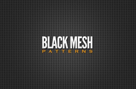 Black Mesh Patterns Collection