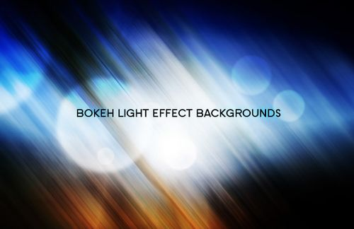 Free Colorful Bokeh Backgrounds