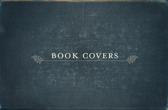 Vintage Book Cover Textures