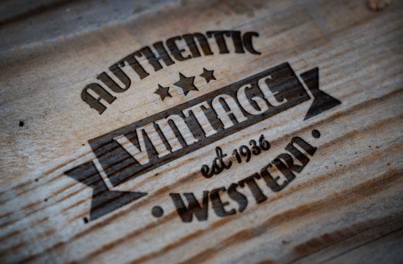 Branded Western Style Logo Mockups
