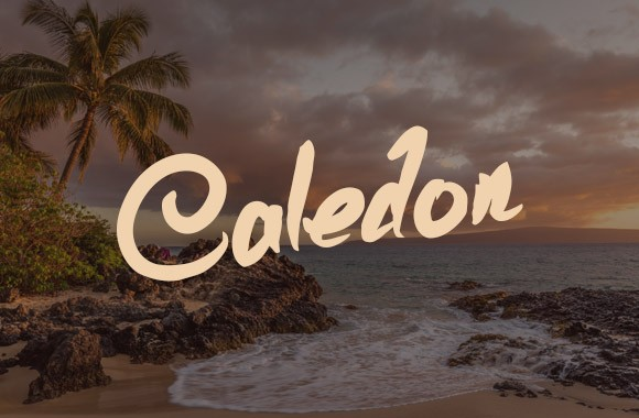 Caledon - Scribble Font