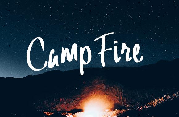 Camp Fire Font