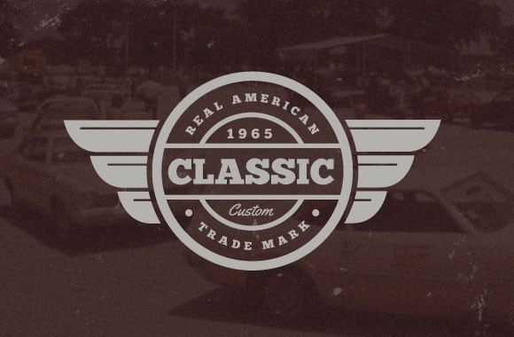 Vintage Car Vector Badges