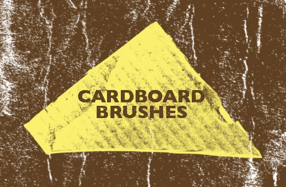High-Contrast Cardboard Brushes