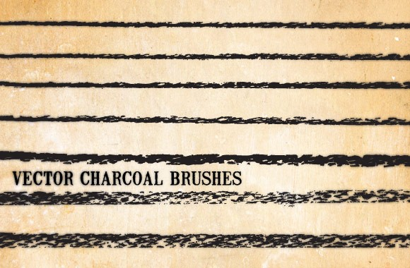 Vector Charcoal Brushes