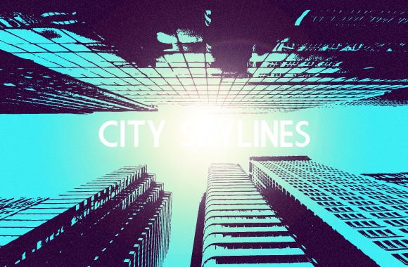 City Skyline Vector Set