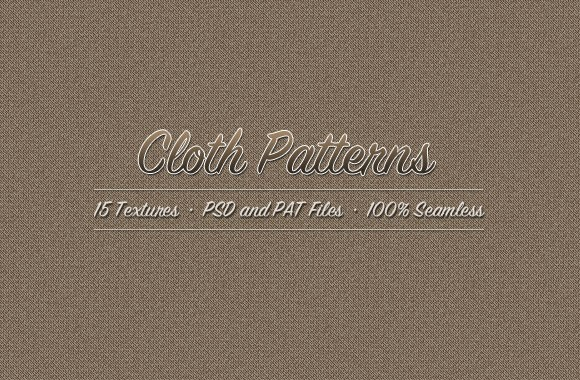 Vintage Cloth Textures and Brushes