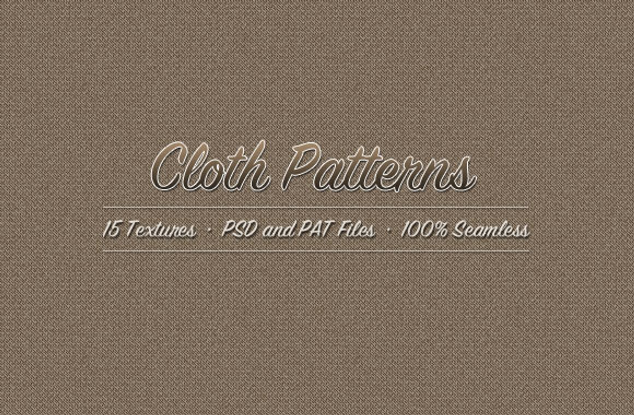 Cloth Pixel Pattern Kit