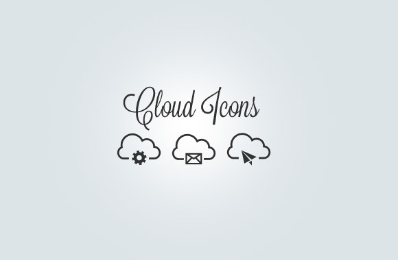 Vector Cloud Icon Collection