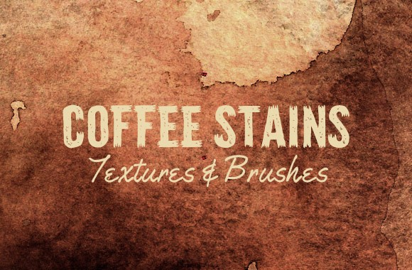 Coffee Stains - Textures and Brushes