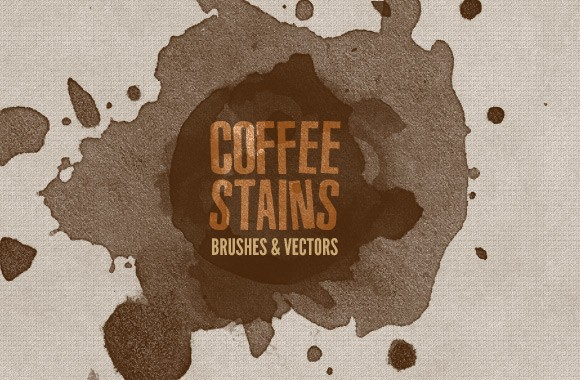 Coffee Stains - Brushes and Vectors