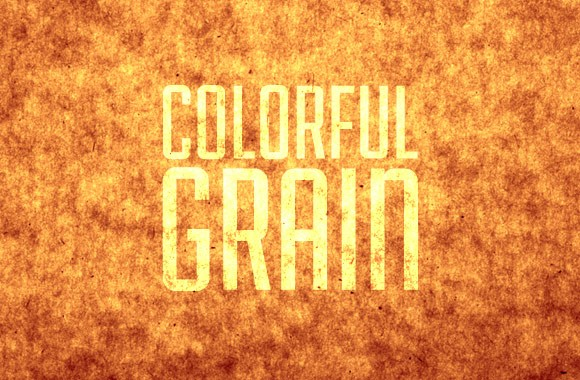 Colorful Grain Textures and Brushes