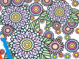 Stress Relief Coloring Pages 1
