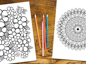 Stress Relief Coloring Pages 2