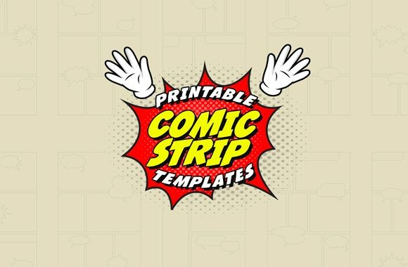 Comic Strip Templates 1