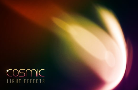 Cosmic Light Effects - Photoshop Brush Pack