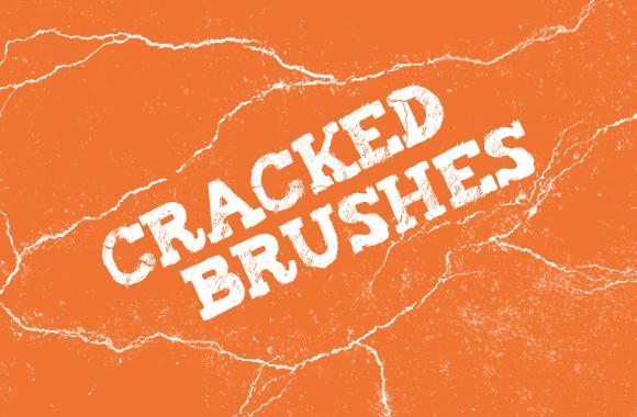 Cracked Brushes for Photoshop