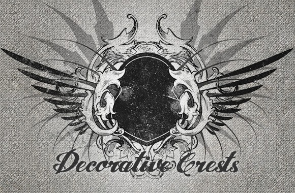 Decorative Crests - Vectors and Brushes