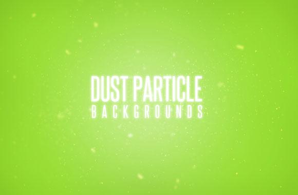Dust Particle Backgrounds