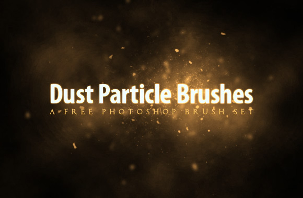 Free Dust Particle Photoshop Brush Set - WeGraphics
