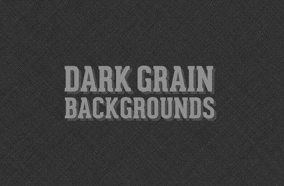 Dark Grain Backgrounds