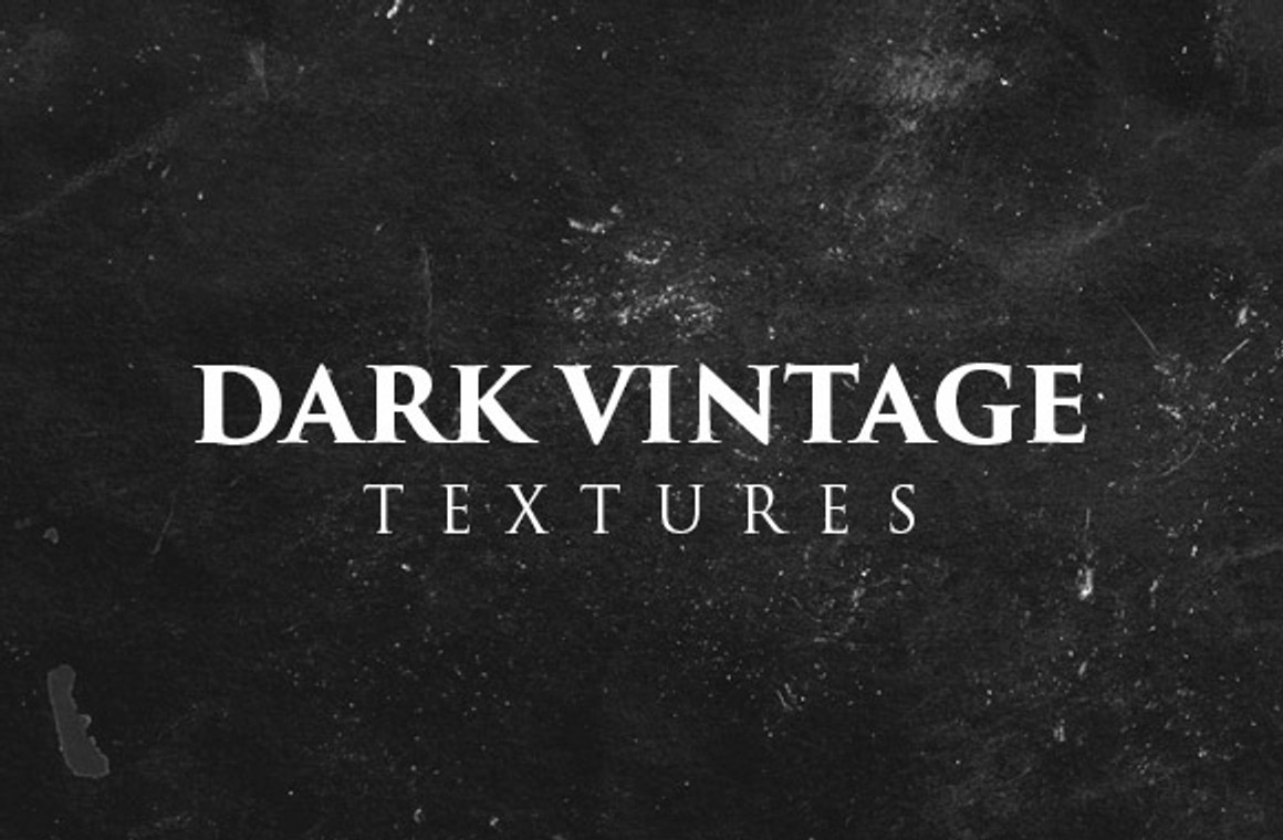 Dark Vintage Textures and Brushes