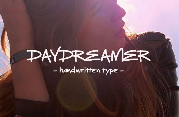Daydreamer - Handwritten Type