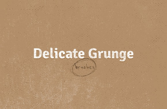 Delicate Grunge Brushes